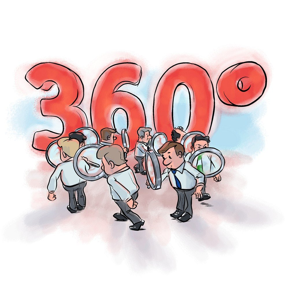 Метод оценки персонала 360 градусов - пример преимущества и недостатки