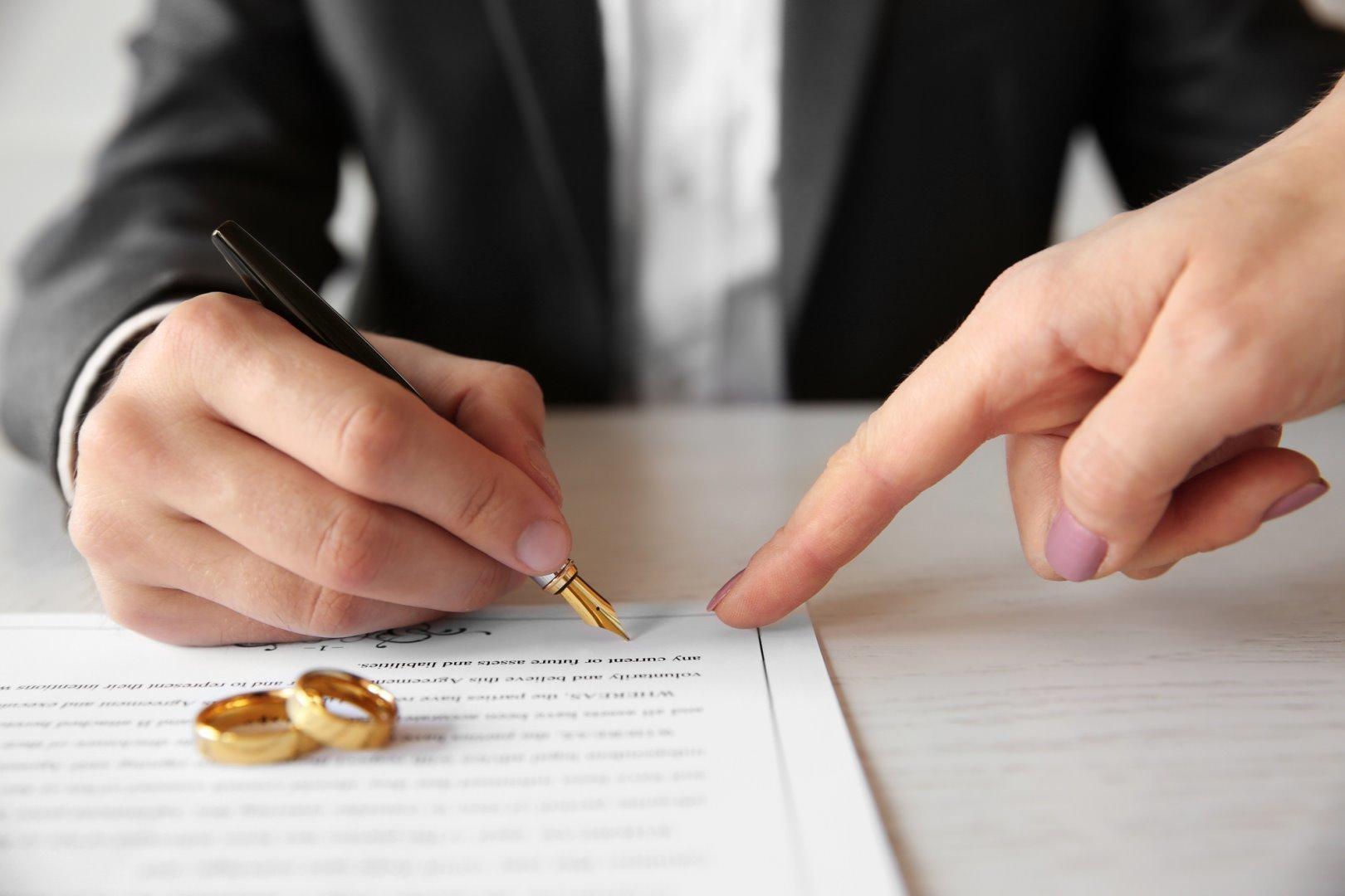Как составить брачный договор в браке после свадьбы. Пример