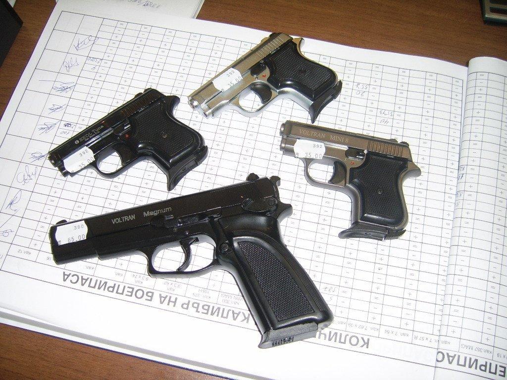 Нарушение норм хранения травматического оружия